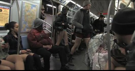No Pants Day à New York