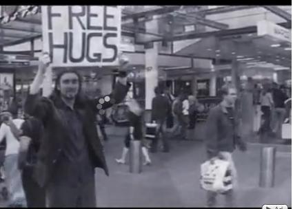 Free Hugs à Toulouse